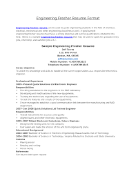 resume format for engineering students in word browse mechanical engineering resume format for fresher in word
