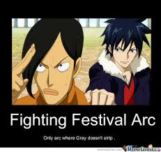 Fairy Tail Funny Memes - fairy tail fighting festival arc by swordsxdiamonds500 meme center