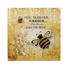 bumble bee 3 d garden wall art wholesale at koehler home decor