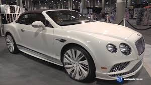 bentley 2017 convertible bentley continental gt speed convertible by lexani exterior