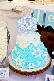 sisters frozen birthday party smash cake