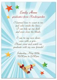 kit graduation invitation announcement baby word