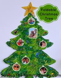 christmas crafts for kids foldable wooden christmas tree