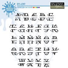initial fonts for monogram digital alphabet vectors in ai eps gsd svg