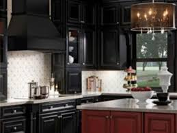 black kitchen backsplash white backsplash with black kitchen cabinets design ideas for
