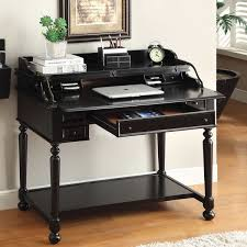 furniture of america traditional multi storage pull out secretary