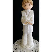 First Communion Cake Decorations First Communion Cake Topper Boy Or First Communion Topper