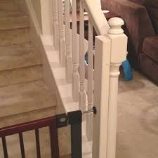 Baby Gate For Stairs With Banister 12 Best Baby Gates For Stairs Images On Pinterest Stair Gate