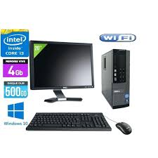 ordinateur de bureau pas cher acheter pc bureau ecran 17 pouces pour pc bureau toute marque hp