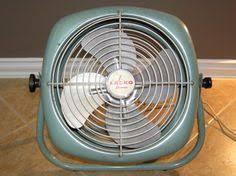 vintage lasko electric desk fan 1970s retro 1971 olive green works