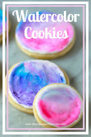 watercolor sugar cookies recipe sugar cookies sugaring and food