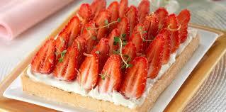 aux fraises cuisine tarte aux fraises à la crème mascarpone facile et pas cher