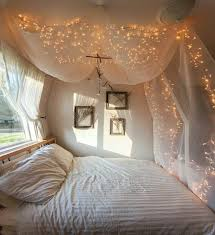 christmas bedroom fairy light canopy d co pinterest fresh