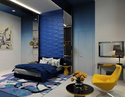 Blue And Yellow Bedroom by Costly Bedroom For Girls In Blue Yellow And Hampedia