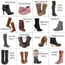 womens boots types names of different types of boots names of different types of