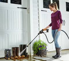 wall mount electric pressure washer worx 20v hydroshot watering rinsing u0026 cleaning tool page 1