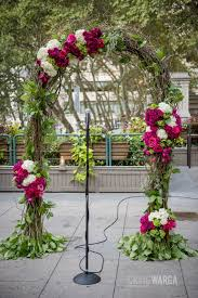 wedding arch nyc floral arch by blossom nyc s only luxury wedding