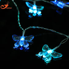 Christmas Patio Lights by Aliexpress Com Buy Butterfly String Lighting Led Patio Lights