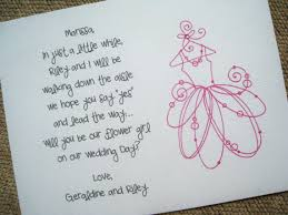 will you be my bridesmaid poem will you be my flower girl card poem ii by gabriellekearney