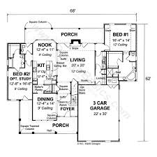 2 bedroom ranch house plans manificent stunning 2 bedroom house plans with 2 master suites