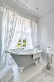 Gray Bathroom Window Curtains Bathroom Window Curtains Bathroom Traditional With Bathroom Window