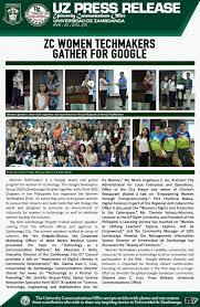 Uco Campus Map Uz Press Release Universidad De Zamboanga Page 2