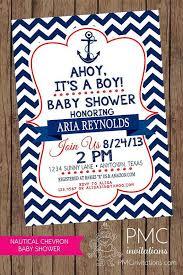 nautical baby shower invitations templates badbrya com