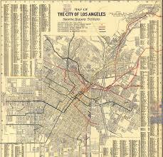 Map Of La Area Los Angeles Transit Agencies