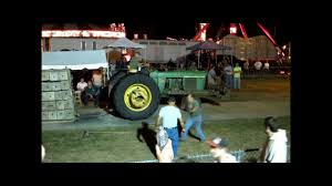 winning the spencer fair tractor pull john deere 4320 youtube