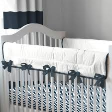 Bed Rail For Crib by Navy And White Nautical Crib Rail Cover Carousel Designs