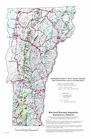 Vermont County Map Wind Power Projects In Vermont Aweo Org