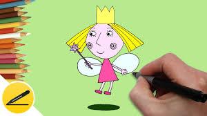draw princess holly draw ben holly u0027s kingdom
