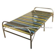 Folding Bed Frame China Steel Folding Bed From Langfang Manufacturer