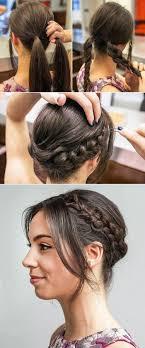 Frisuren Selber Machen Zum Ausgehen by 36 Besten Frisuren Voltigieren Bilder Auf Haarknoten