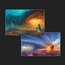 Storm Light Archive Stormlight Archive Set Of 2 The Art Of Michael Whelan