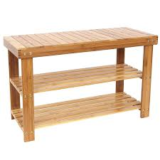 decorating practical entryway storage bench with coat rack in