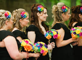 bridesmaids accessories rainbow accessories do or don t bridalguide