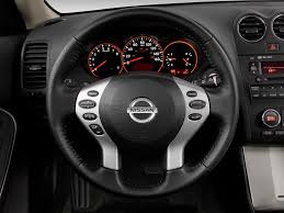 nissan altima coupe sports car image 2009 nissan altima 2 door coupe v6 cvt se steering wheel
