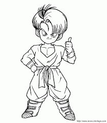 dragon ball gt coloring pages kids coloring