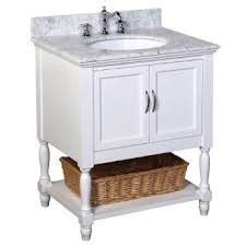 30 Inch Vanity Cabinet Furniture Adelina 30 Inch Mirrored Bathroom Vanity Cabinet And