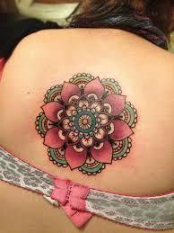25 trending colorful mandala tattoo ideas on pinterest lotus
