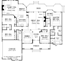 country style house plan 4 beds 3 baths 2818 sq ft plan 929 13