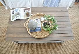 Best Wood For Making A Coffee Table by Diy World Market Coffee Table Makeover Liz Marie Blog