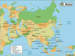 map of asia countries and cities asian countries map and capitals map asia with capital