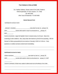 medical work excuse template 9 doctor note templates word excel