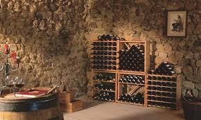 furniture small wooden eurocave wine racks home under framed
