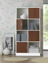 White Bookcase Melbourne Amazon Com Baxton Studio Chateau Bookcase Kitchen U0026 Dining