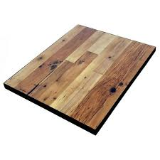 reclaimed wood restaurant table tops reclaimed wood tabletops with metal edge economy restaurant
