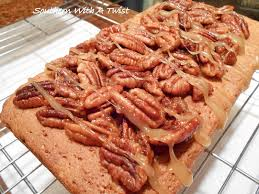 southern with a twist southern candied pecan pound cake