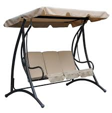 3 Seater Garden Swing Chair Bentley Garden 3 Seater Premium Swing Seat With Canopy